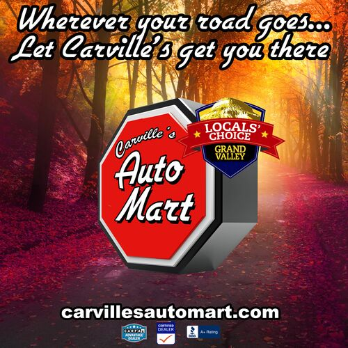 Carville's Autumn Road Banner