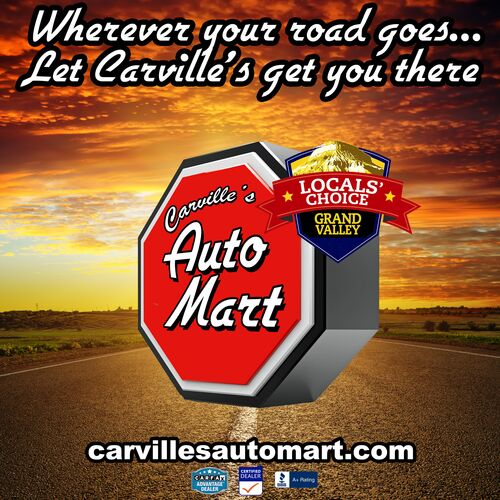 Carville's Sunset Road Banner