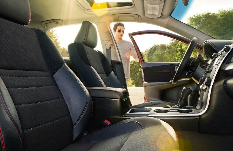 2016 Toyota Camry interior front seat