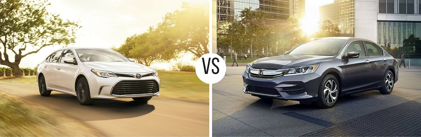 2016 Toyota Avalon vs 2016 Honda Accord