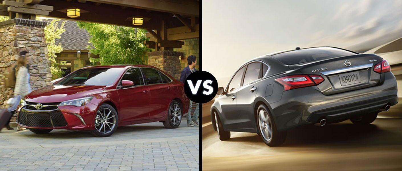 2016 Toyota Camry vs 2016 Nissan Altima