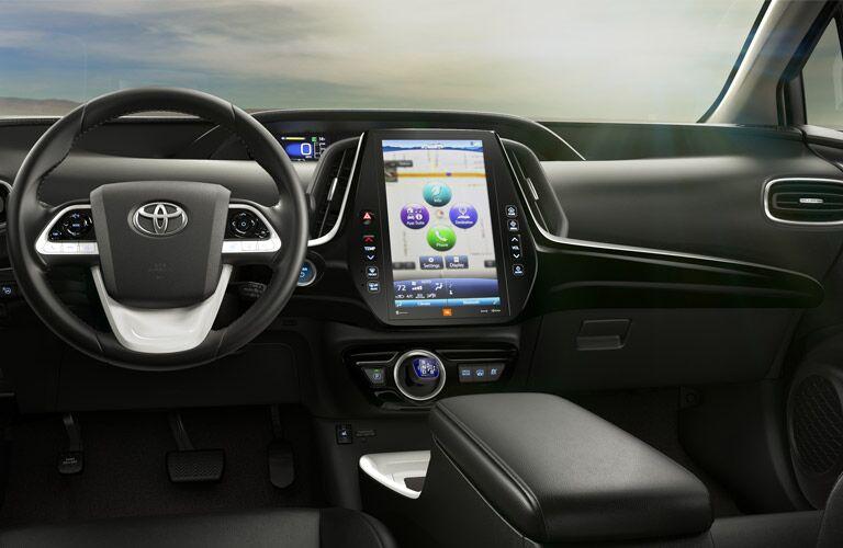 2017 Toyota Prius Prime dashboard design