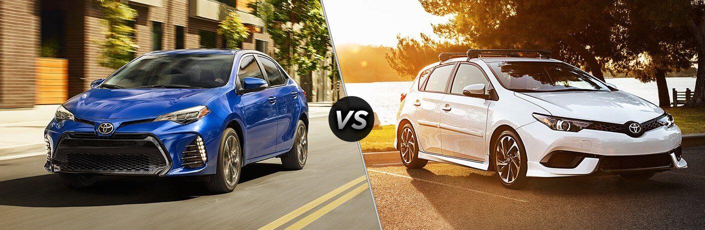 2017 Toyota Corolla vs 2017 Toyota Corolla iM