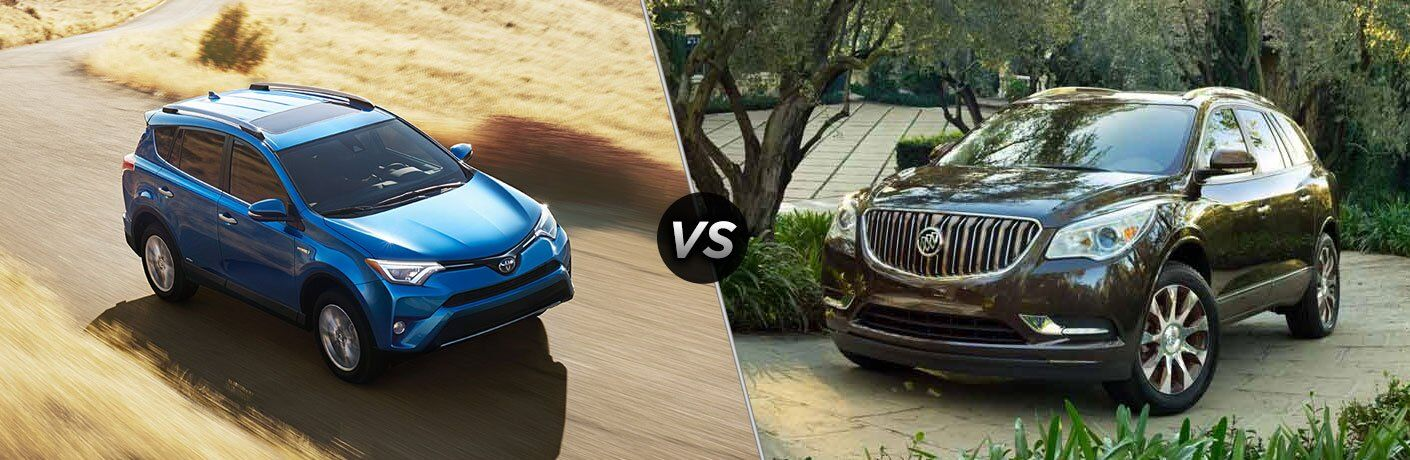 2017 Toyota RAV4 vs 2017 Buick Enclave