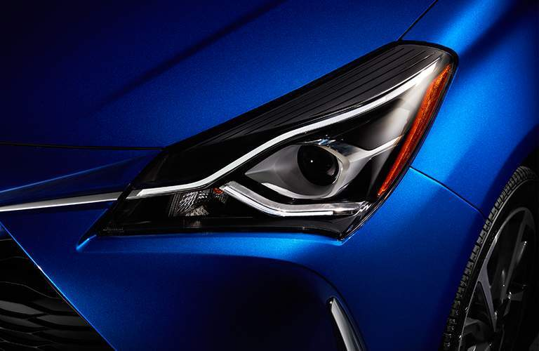 2018 Toyota Yaris with LED Lighting