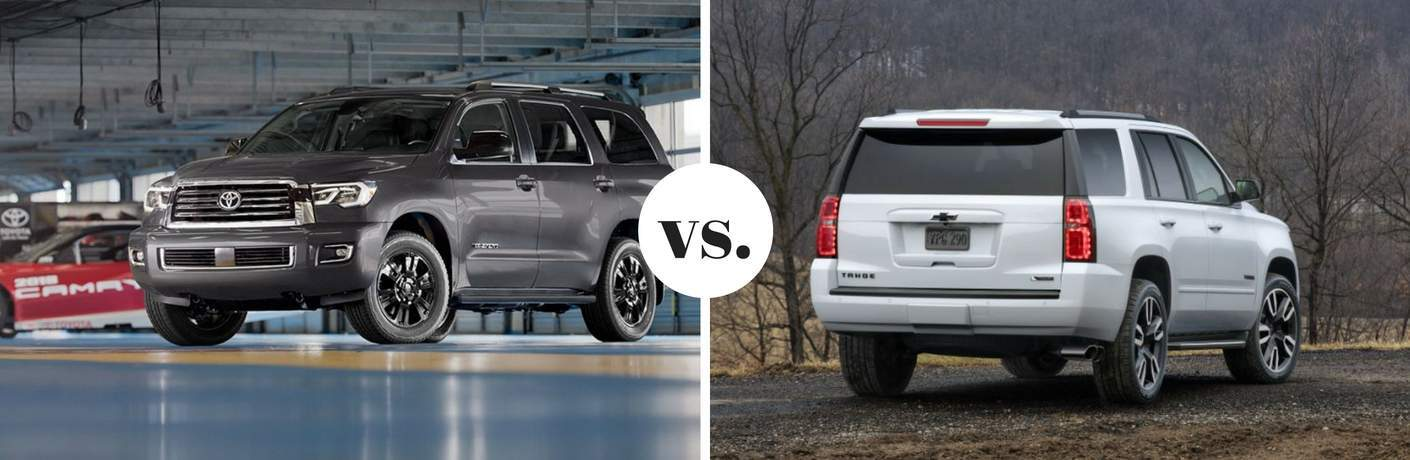 2018 Toyota Sequoia vs 2018 Chevrolet Tahoe