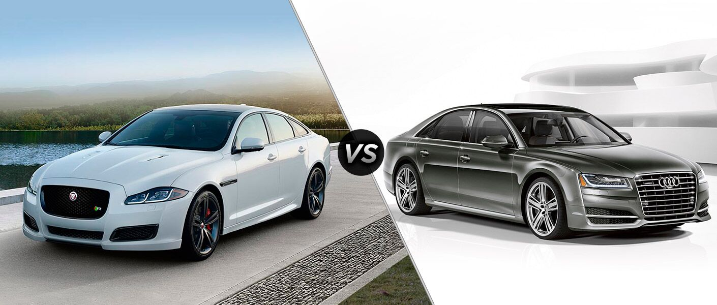 2016 Jaguar XJ vs 2016 Audi A8