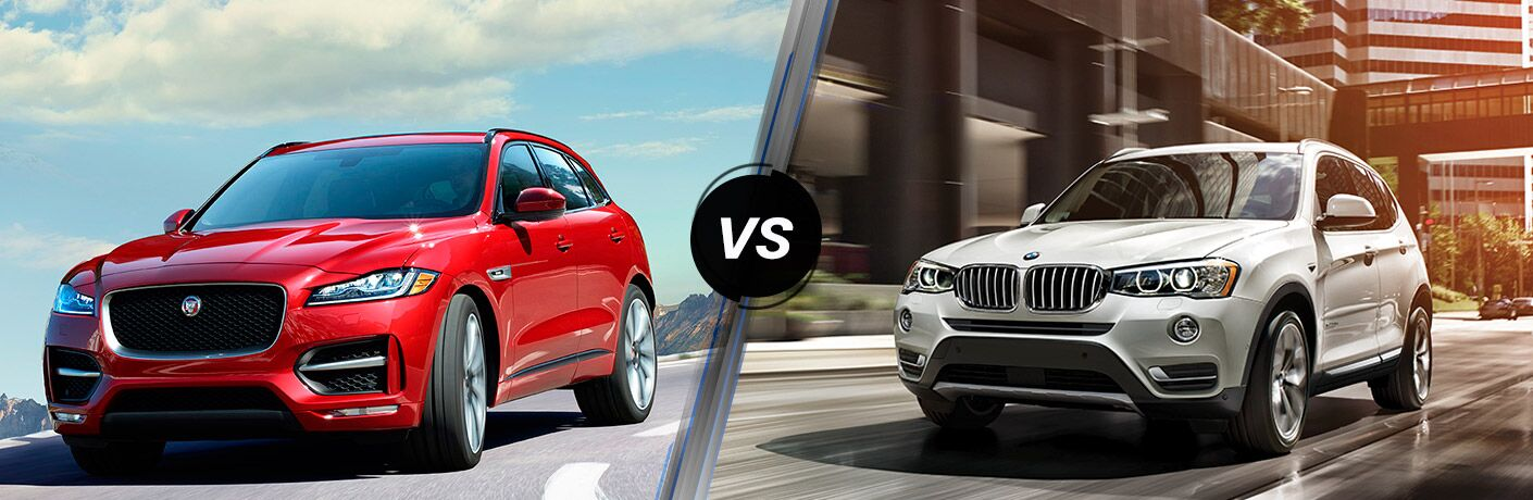 2017 Jaguar F-PACE vs 2017 BMW X3