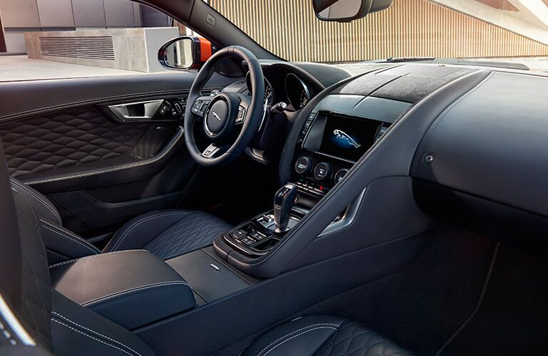 2017 Jaguar F-TYPE Front Seat Interior