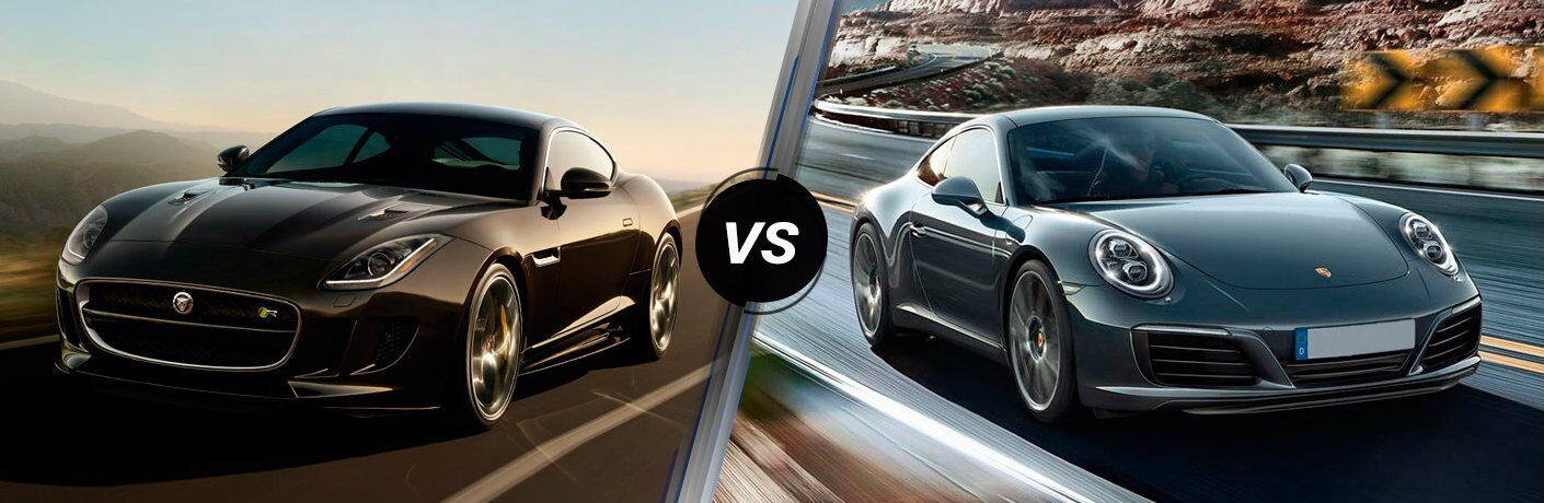 2017 Jaguar F-TYPE vs 2017 Porsche 911