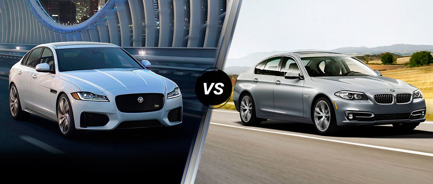 2017 Jaguar XF vs 2016 BMW 528i