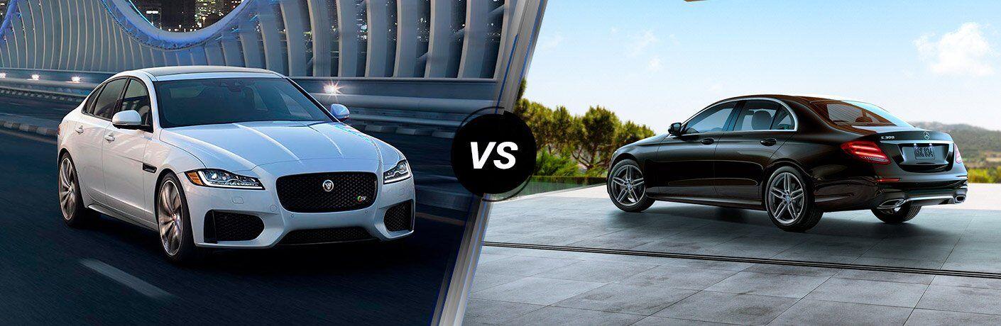 2017 Jaguar XF vs 2017 Mercedes-Benz E-Class