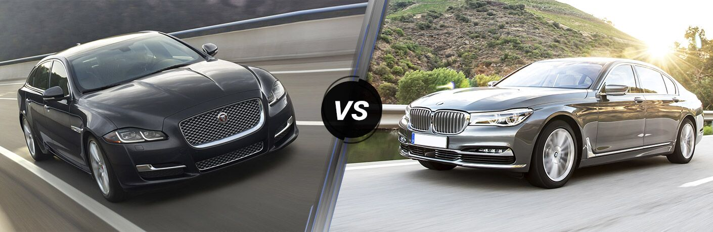 2017 Jaguar XJ vs 2017 BMW 740i
