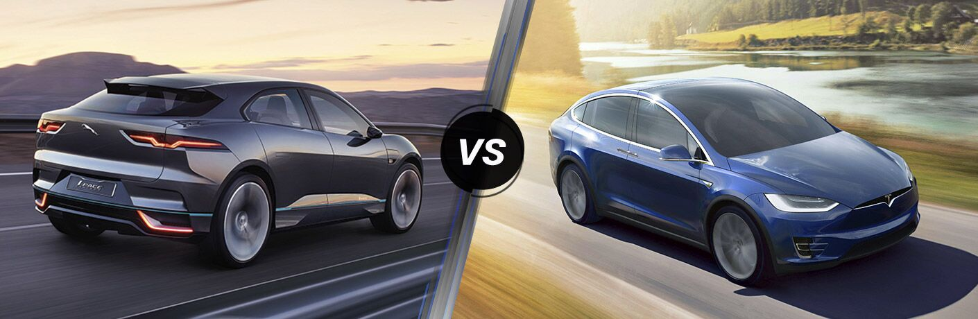 jaguar i pace vs tesla model x san antonio tx barrett jaguar. Black Bedroom Furniture Sets. Home Design Ideas