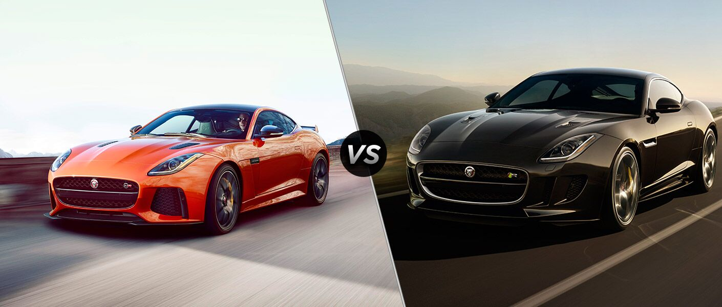 2017 jaguar f type svr vs 2017 jaguar f type r. Black Bedroom Furniture Sets. Home Design Ideas