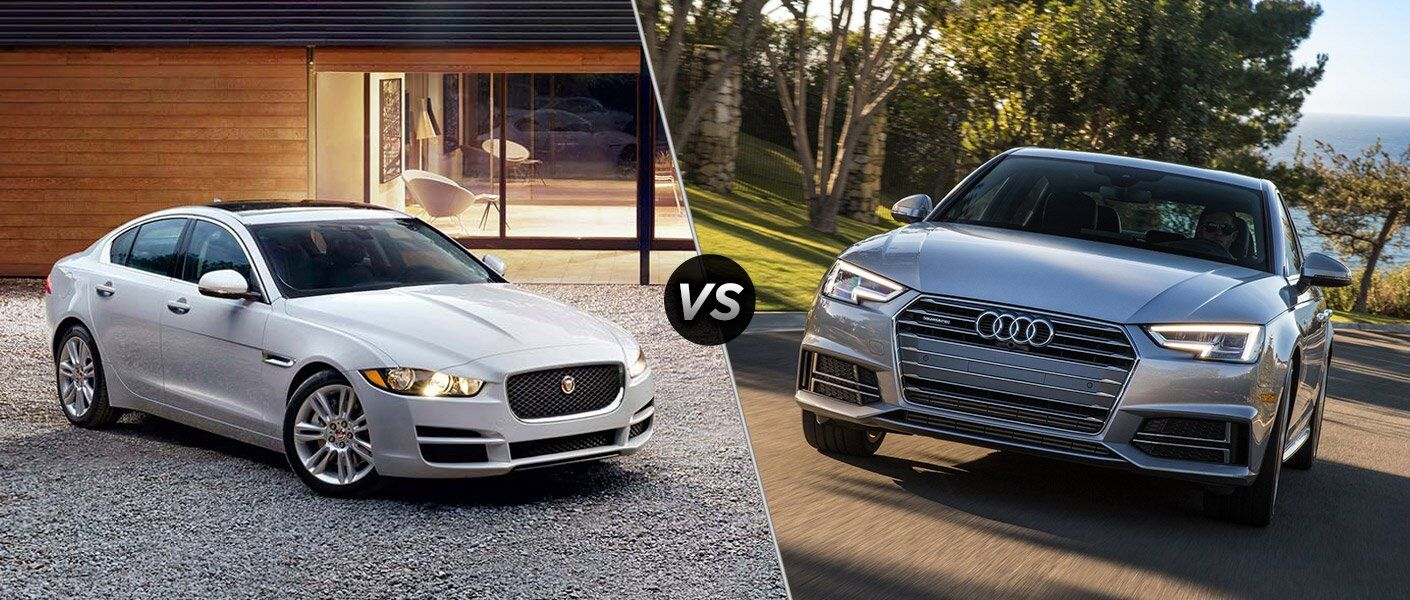 2017 Jaguar XE vs 2017 Audi A4