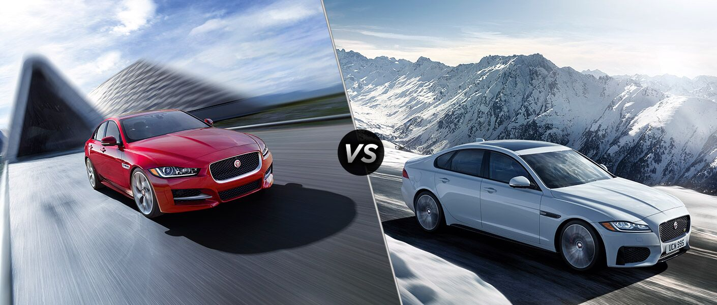 2017 Jaguar XE vs 2017 Jaguar XF