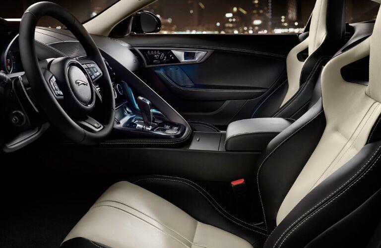 2017 Jaguar F-TYPE SVR vs 2017 Jaguar F-TYPE R - R Interior