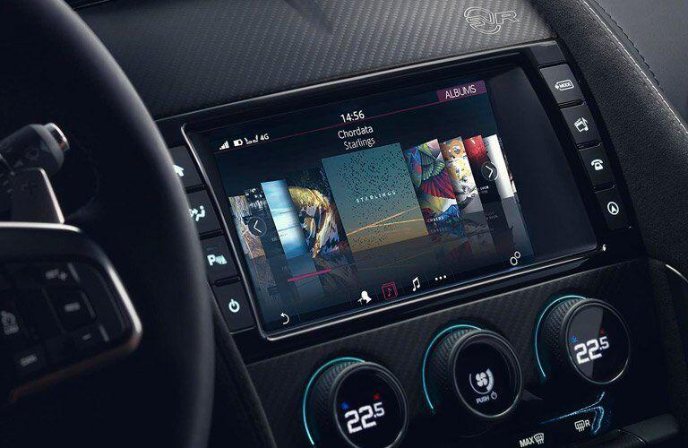 2018 Jaguar F-TYPE InControl Touch Touchscreen
