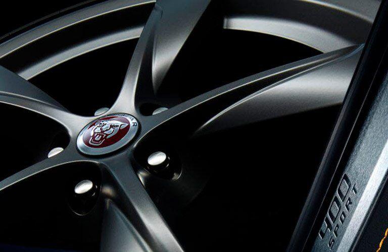 Close Up of 2018 Jaguar F-TYPE Wheel