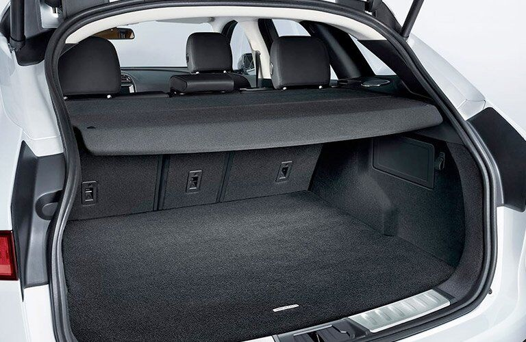 2018 jaguar F-PACE Rear Cargo Space