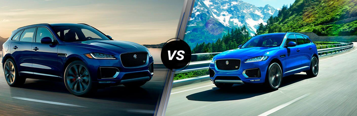 2018 Jaguar F-PACE vs 2017 Jaguar F-PACE