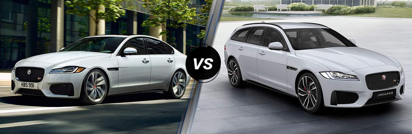 2018 Jaguar XF vs 2018 Jaguar XF Sportbrake