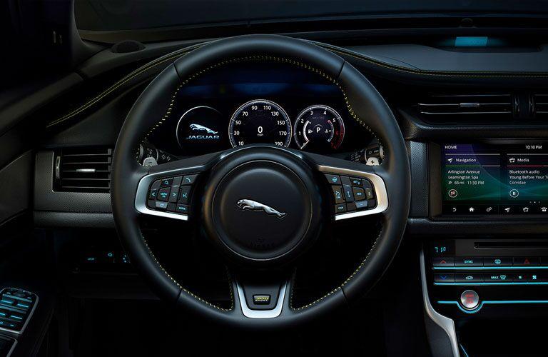 2019 Jaguar XF Sportbrake Steering Wheel and Dashboard