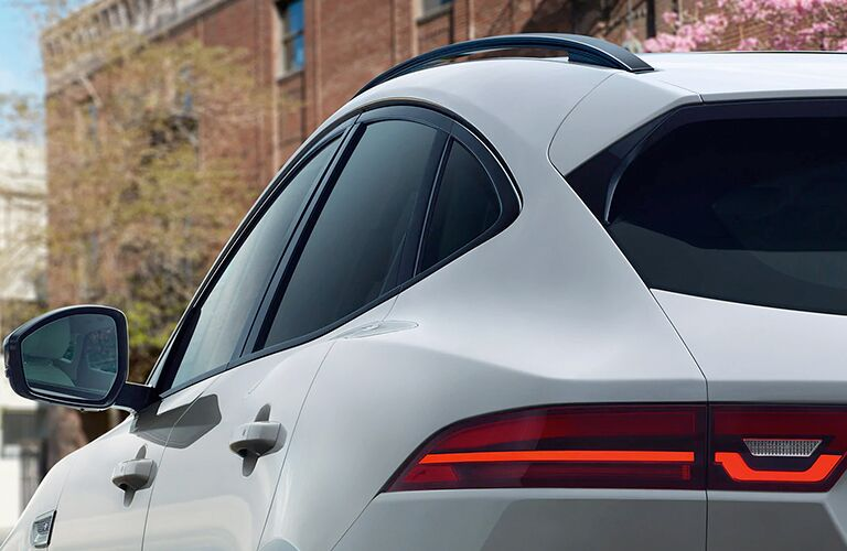 Close Up of 2020 Jaguar E-PACE Taillight