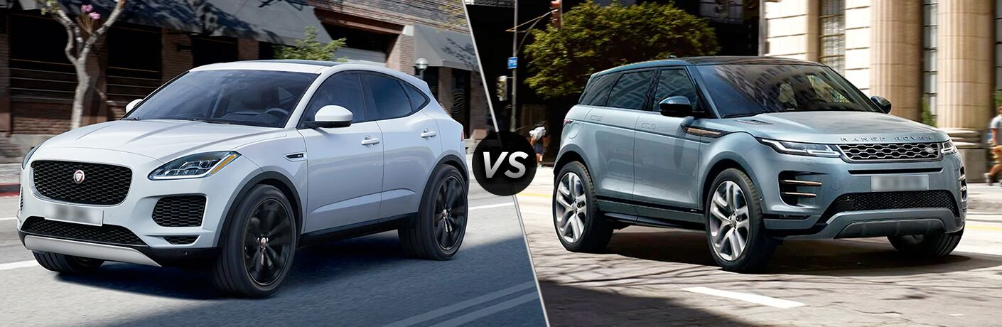 2020 Jaguar E-Pace vs 2020 Range Rover Evoque