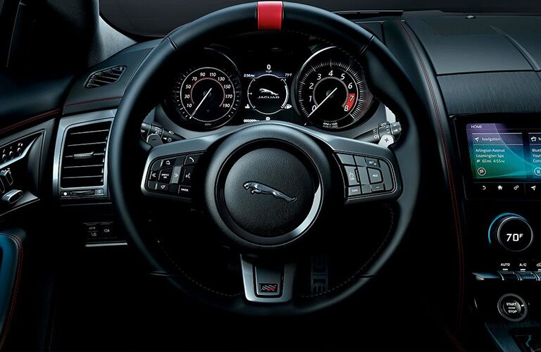 2020 Jaguar F-TYPE Checkered Flag Limited Edition Steering Wheel