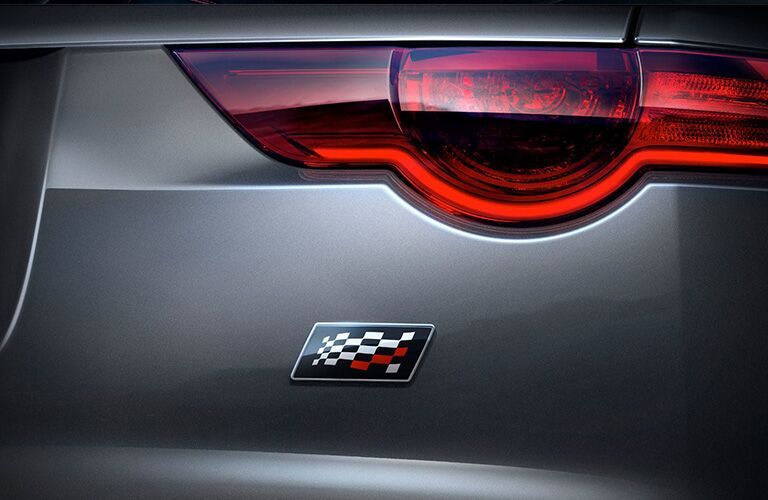 2020 Jaguar F-Type Checkered Flag badging