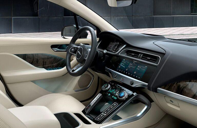 2020 Jaguar I-PACE driver's cockpit