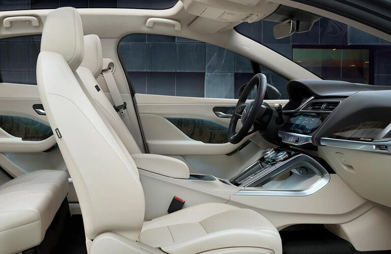 2020 Jaguar I-PACE front seats