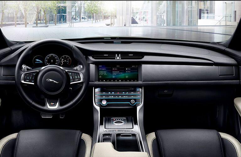 2020 Jaguar XF Dashboard