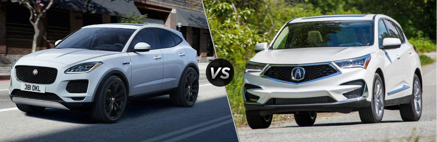2020 Jaguar E-PACE vs 2020 Acura RDX
