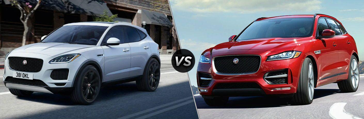 2020 Jaguar E-PACE vs 2020 Jaguar F-PACE