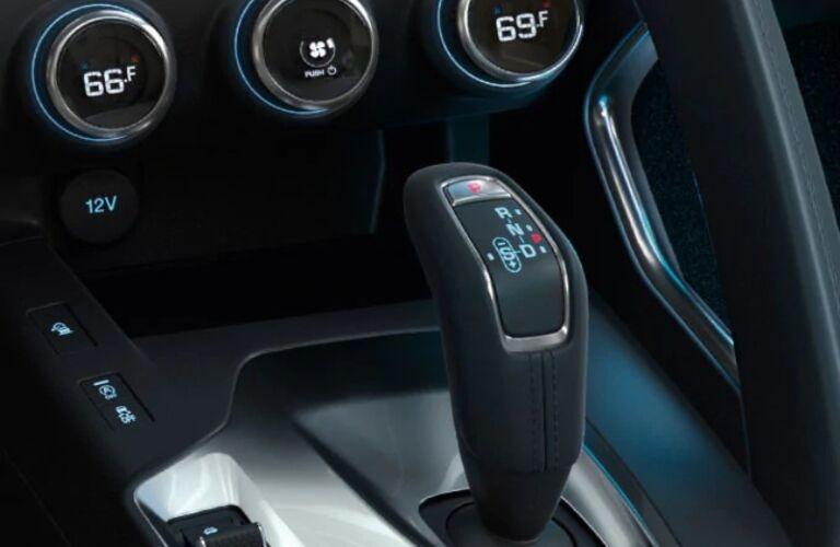 2020 Jaguar E-PACE shift knob
