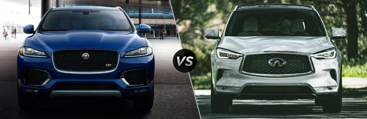 2020 Jaguar F-PACE vs 2020 INFINITI QX50
