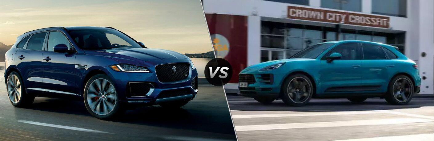 2020 Jaguar F-PACE vs 2020 Porsche Macan