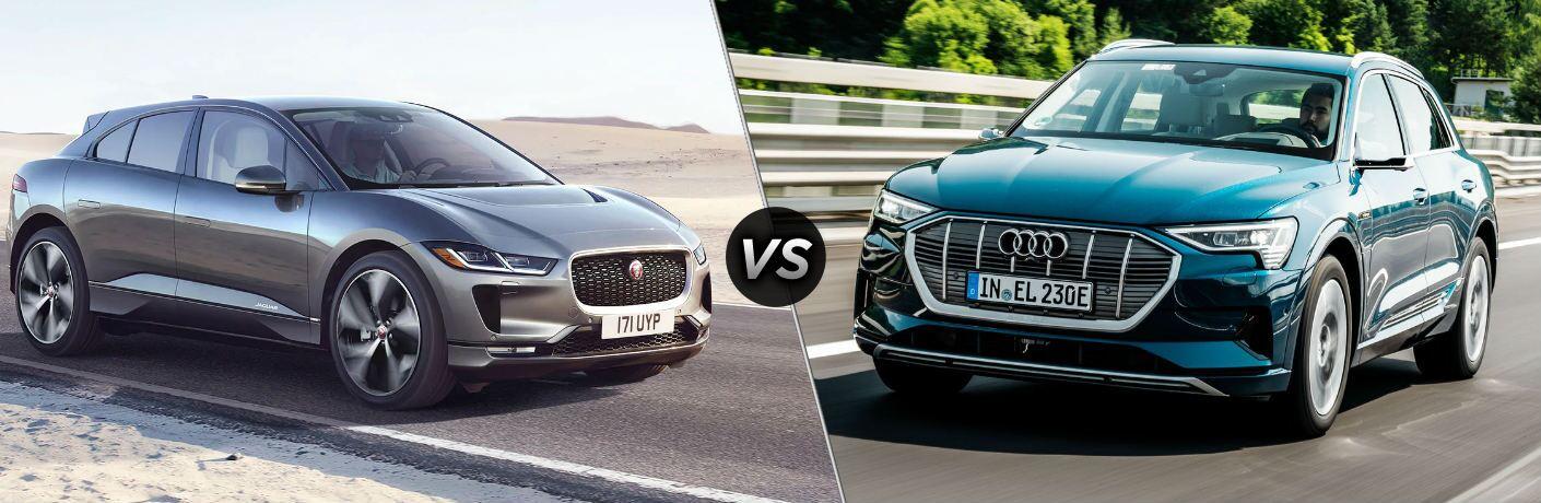 2020 Jaguar I-PACE vs 2019 Audi e-tron