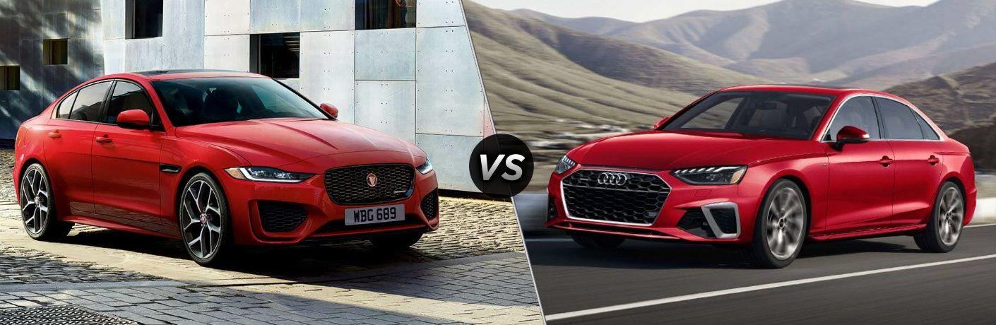 2020 Jaguar XE vs 2020 Audi A4