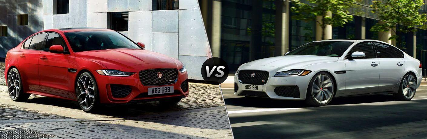 2020 Jaguar XE vs 2020 Jaguar XF