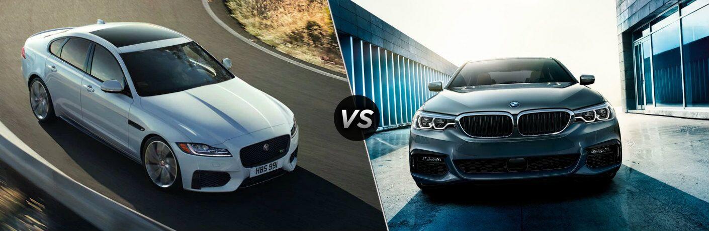 2020 Jaguar XF vs 2020 BMW 530