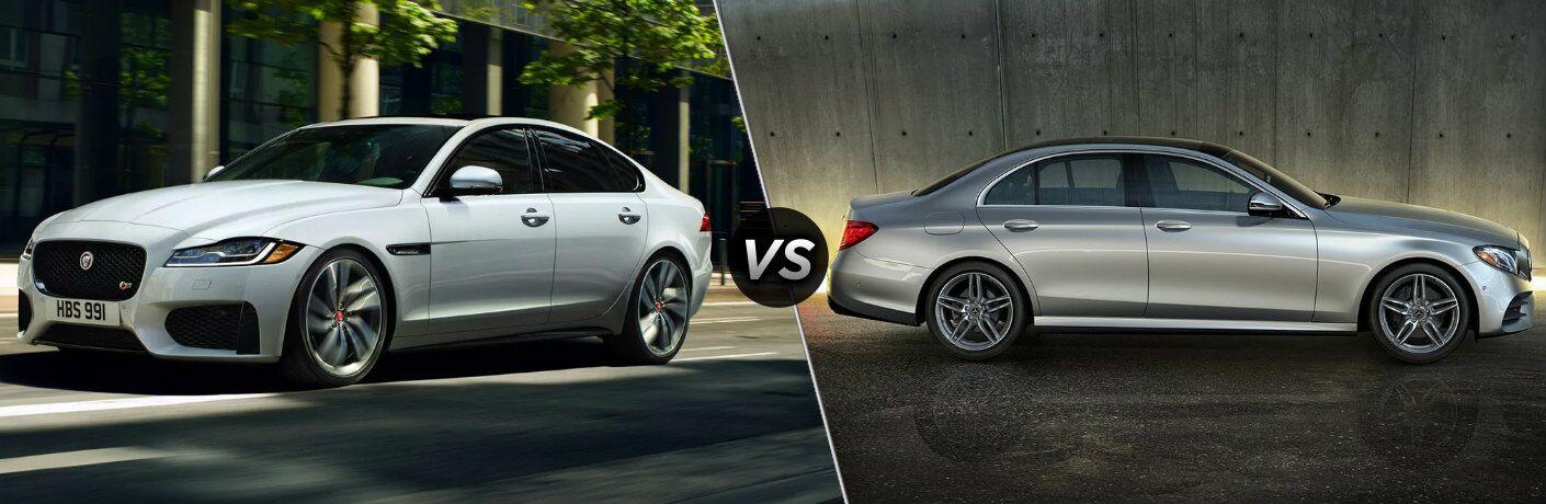 2020 Jaguar XF vs 2020 Mercedes-Benz E-Class