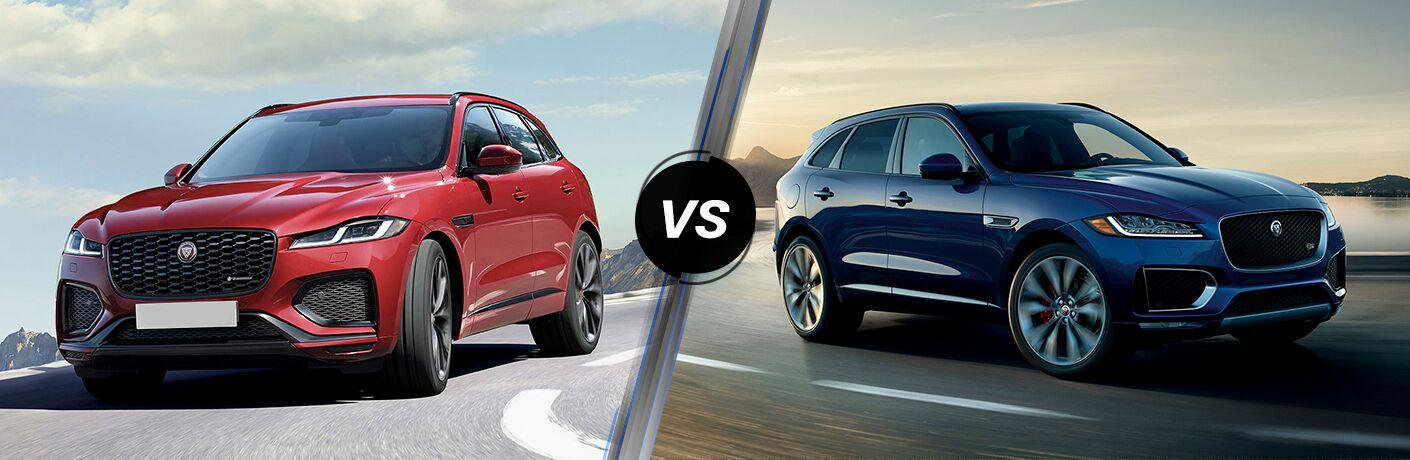 2021 Jaguar F-PACE vs 2020 Jaguar F-PACE