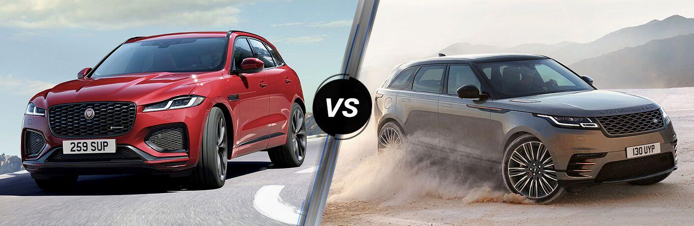 2021 Jaguar F-PACE vs 2021 Range Rover Velar