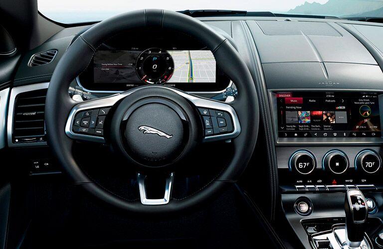 2022 Jaguar F-TYPE dashboard