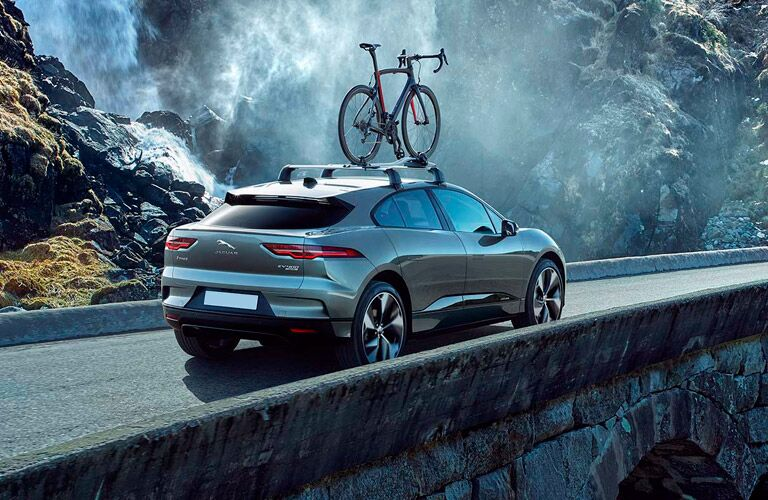 2022 Jaguar I-PACE driving away