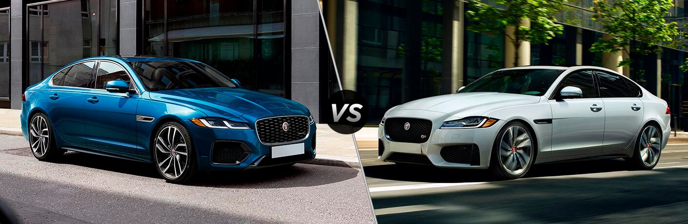 2021 Jaguar XF vs 2020 Jaguar XF